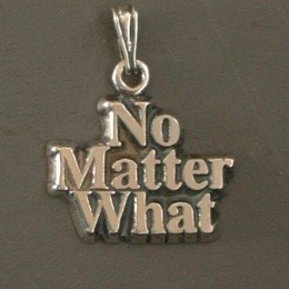 1266 No Matter What Pendant-Charm