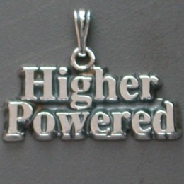 1266 Higher Powered Pendant-Charm