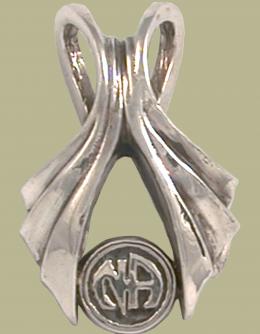 2012 Wishbone w Narcotics Anonymmous Logo Pendant