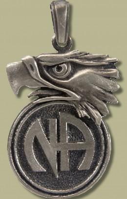 2082 Eagle w Narcotics Anonymous Logo