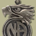 2084 Large Eagle w Narcotics Anonymous Logo