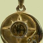 SunMoon w NA Service Symbol Pendant