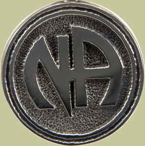 Narcotics Anonymous Logo Lapel Pin