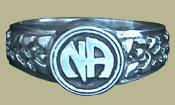 1602 Nugget Shank w Narcotics Anonymous Logo