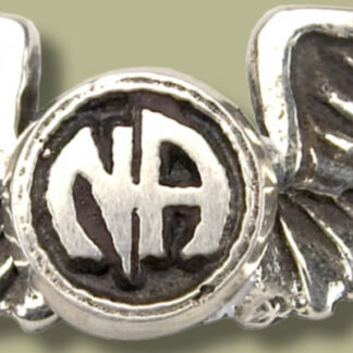 Wings Lapel Pins with NA Logo recovery pendant