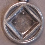 1/2 in Narcotics Anonymous Service Symbol