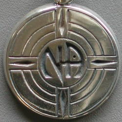 1212 Group Symbol Lapel Pin Solid