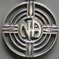 1213 Group Symbol Lapel Pin Open