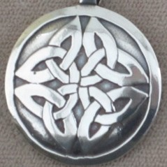 2031Celtic Knot ,Round Earrings