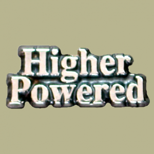 Higher Powered Lapel Pin